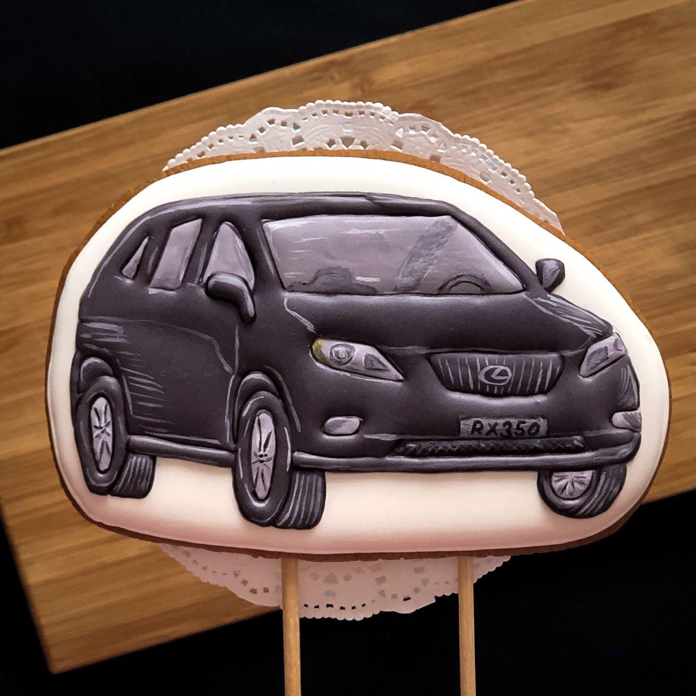 Картинки машин на пряник