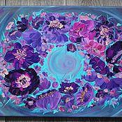 Картина маслом Хоровод цветов