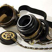 "Субкультуры handmade. Livemaster - original item INFORMAL Goggle Eyewear ""WELDER-50"" Steampunк. Handmade."