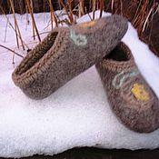 """Обувь ручной работы. Ярмарка Мастеров - ручная работа Тапки """"Мозаика"""". Handmade."""