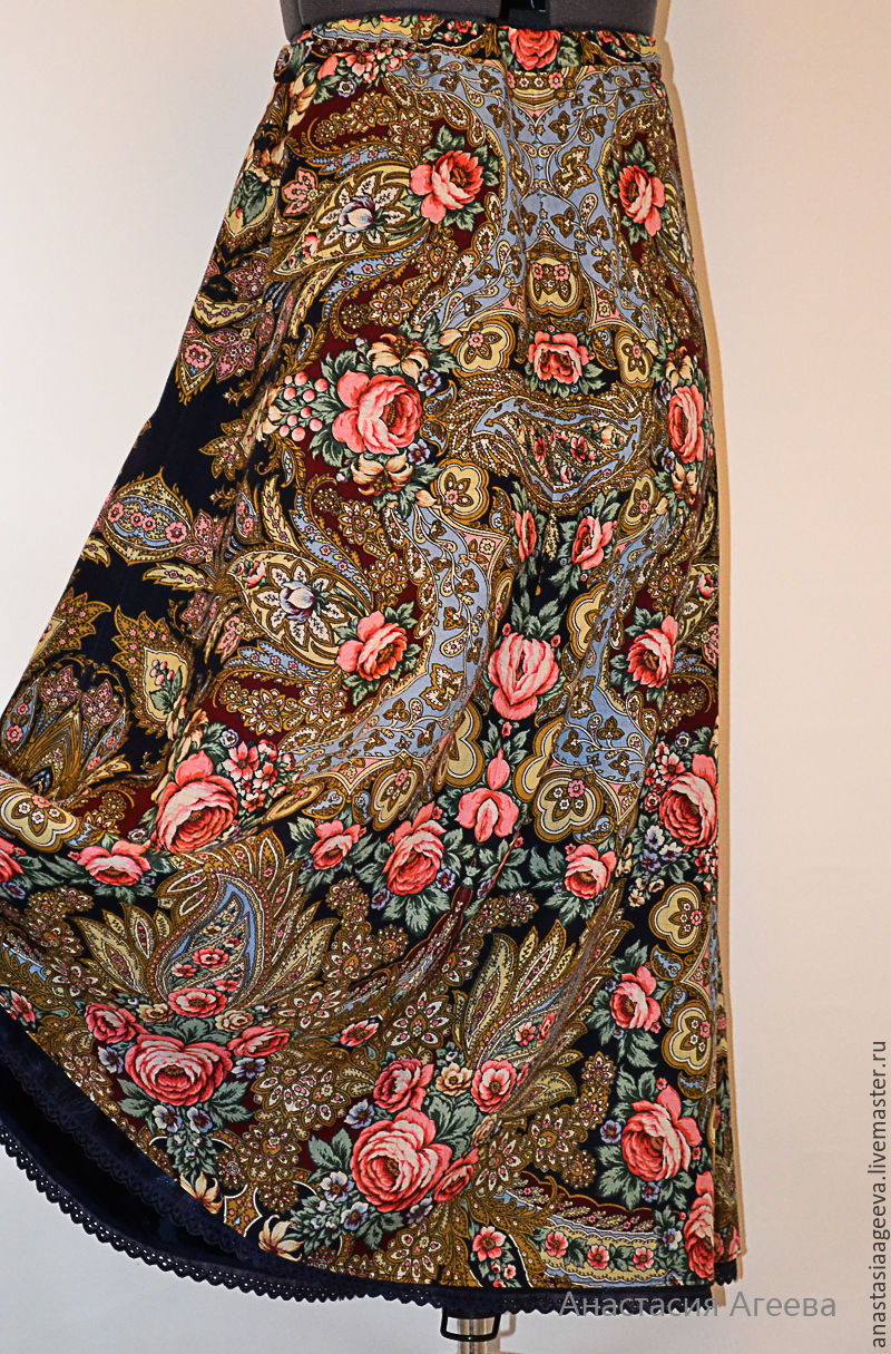 Юбка платок своими руками