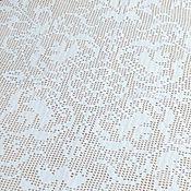 Для дома и интерьера ручной работы. Ярмарка Мастеров - ручная работа Салфетка вязаная Восточный узор, скатерть вязаная. Handmade.