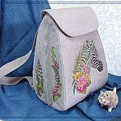 Сумки и аксессуары handmade. Livemaster - original item Backpack JV
