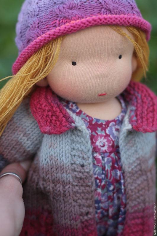 Вальдорфская кукла Ася 36 см. Julia Solarrain (SolarDolls) Ярмарка Мастеров