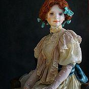 Шарнирная кукла ручной работы. Ярмарка Мастеров - ручная работа Лизавета, Лиззи. фарфоровая шарнирная кукла. Handmade.