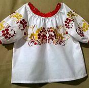 Работы для детей, handmade. Livemaster - original item Children`s embroidery DR1-033. Handmade.