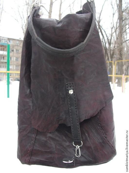 Женские сумки ручной работы. Ярмарка Мастеров - ручная работа. Купить Сумка- торба в стиле бохо, цвет бордо. Handmade.