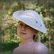 """Шляпы ручной работы. Ярмарка Мастеров - ручная работа. Купить Дамская шляпка """"Здравствуй,Одри!"""". Handmade. Бежевый, Валяние"""