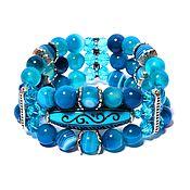 Фен-шуй и эзотерика handmade. Livemaster - original item Agate bracelet