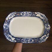 Vintage kitchen utensils handmade. Livemaster - original item ancient dish Woods & Sons England 1908.. Handmade.