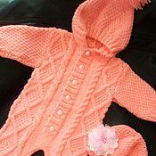 Работы для детей, ручной работы. Ярмарка Мастеров - ручная работа комплект комбинезон новорожденным. Handmade.