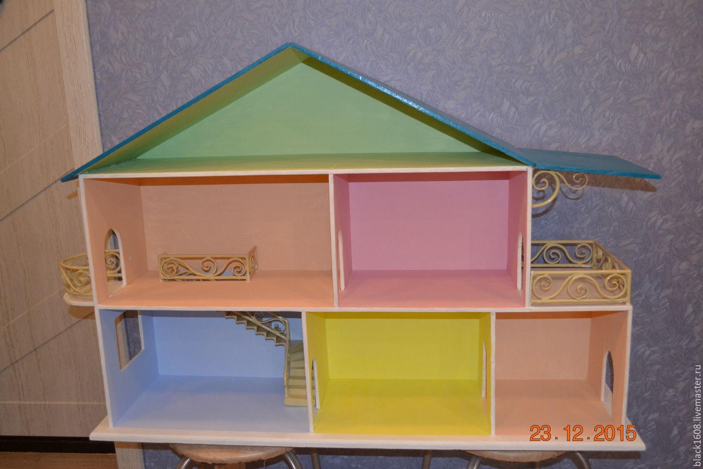 Кукольный дом пошаговое фото