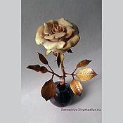 Для дома и интерьера ручной работы. Ярмарка Мастеров - ручная работа Роза Резная. Handmade.