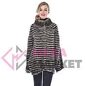 Одежда handmade. Livemaster - original item Mink jacket on knitwear. Handmade.