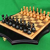 Активный отдых и развлечения handmade. Livemaster - original item Chess: Chess№2.Manual work.. Handmade.