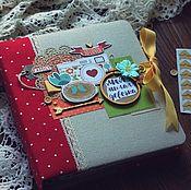 Канцелярские товары handmade. Livemaster - original item Album diary