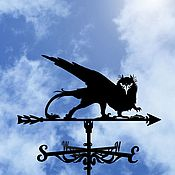 handmade. Livemaster - original item A weathervane on the roof
