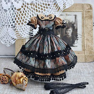 Куклы и игрушки ручной работы. Ярмарка Мастеров - ручная работа Платье для куклы Блайз, одежда для кукол. Blythe dress. Handmade.