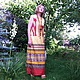 """Платья ручной работы. Ярмарка Мастеров - ручная работа. Купить Длинное платье """"Африканские кошки""""(100% хлопок). Handmade. Разноцветный, африка"""