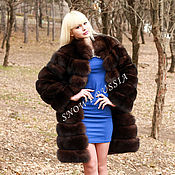 Одежда handmade. Livemaster - original item FUR COAT FINNISH FOX. Handmade.