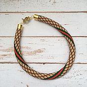 Украшения handmade. Livemaster - original item Harness beaded style Gucci. Handmade.