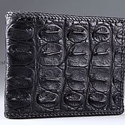 Сумки и аксессуары handmade. Livemaster - original item Crocodile leather braided wallet IMA0213B2. Handmade.