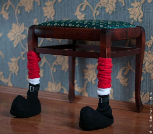 """Детская ручной работы. Ярмарка Мастеров - ручная работа. Купить Украшение для стульев """"башмачки"""". Handmade. Одежда для стульев, украшение для стульев"""