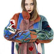 """Одежда ручной работы. Ярмарка Мастеров - ручная работа Шуба  """"Коллекция популярная"""". Handmade."""