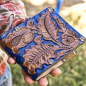 Сумки и аксессуары handmade. Livemaster - original item Cover leather pass. Handmade.