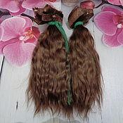 Портретная кукла ручной работы. Ярмарка Мастеров - ручная работа Портретная кукла: Волосы для куклы. Handmade.