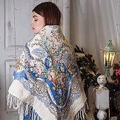 handmade. Livemaster - original item Handkerchief felted insulated with a thin layer of Merino wool. Handmade.