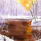 Картины и панно handmade. Livemaster - original item A painting gift