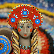 Куклы и игрушки ручной работы. Ярмарка Мастеров - ручная работа Гамаюн, птица вещая.... Handmade.