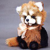Куклы и игрушки ручной работы. Ярмарка Мастеров - ручная работа Лео красная панда. Handmade.