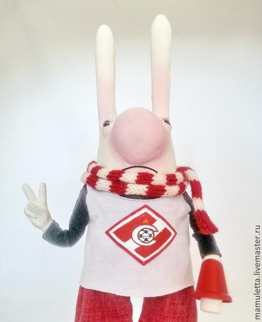 Коллекционные куклы ручной работы. Ярмарка Мастеров - ручная работа. Купить Оле - оле - оле - олееее...)). Handmade. заяц