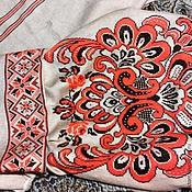 Одежда ручной работы. Ярмарка Мастеров - ручная работа Заготовка для блузы с вышивкой.. Handmade.