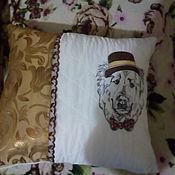 Подушки ручной работы. Ярмарка Мастеров - ручная работа Подарочные подушки. Handmade.