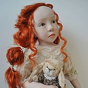 Куклы и пупсы ручной работы. Ярмарка Мастеров - ручная работа Кукла Аня. Интерьерная кукла. Handmade.