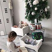 Для дома и интерьера handmade. Livemaster - original item Cot for dolls and toys. Handmade.