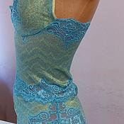 Одежда handmade. Livemaster - original item Womens lace bodysuit. Handmade.