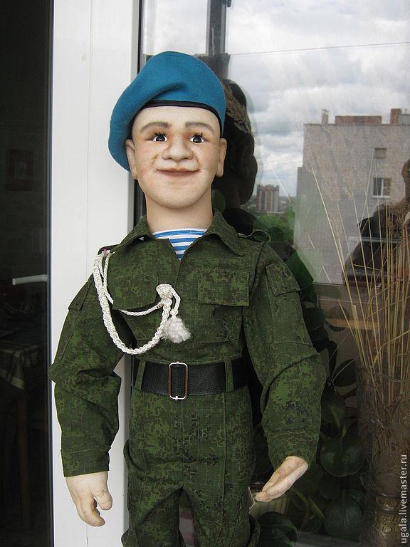 Doll 'Paratrooper', Portrait Doll, Ryazan,  Фото №1