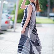 Одежда handmade. Livemaster - original item Dress, Summer dress, Sundress, Sundress linen, Clothes EUG. Handmade.