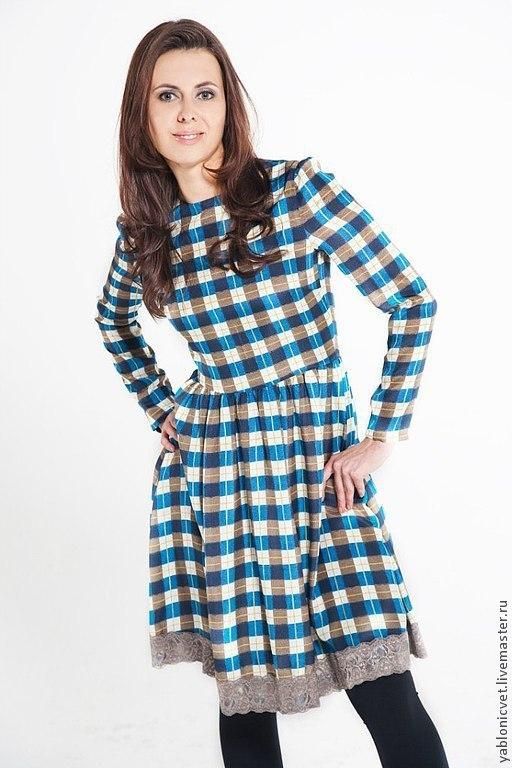 Платья ручной работы. Ярмарка Мастеров - ручная работа. Купить платье шелковое. Handmade. Синий, платье коктейльное