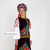 Одежда handmade. Livemaster - original item Ukrainian folk women`s costume