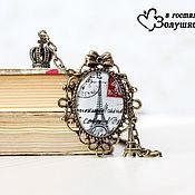 """Украшения ручной работы. Ярмарка Мастеров - ручная работа Кулон """"Мой Париж"""". Handmade."""
