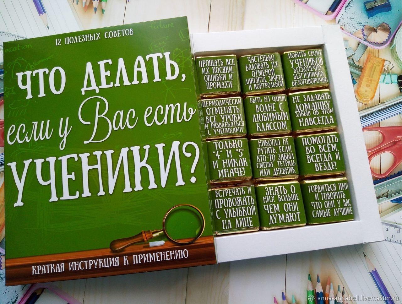 Инструкция для учителя, Сувениры по профессиям, Нижний Новгород,  Фото №1