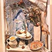 Картины и панно ручной работы. Ярмарка Мастеров - ручная работа Сочельник. Handmade.