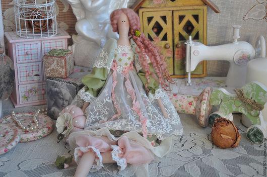 """Куклы Тильды ручной работы. Ярмарка Мастеров - ручная работа. Купить Кукла в стиле Тильда """"Весенная мелодия"""". Handmade."""