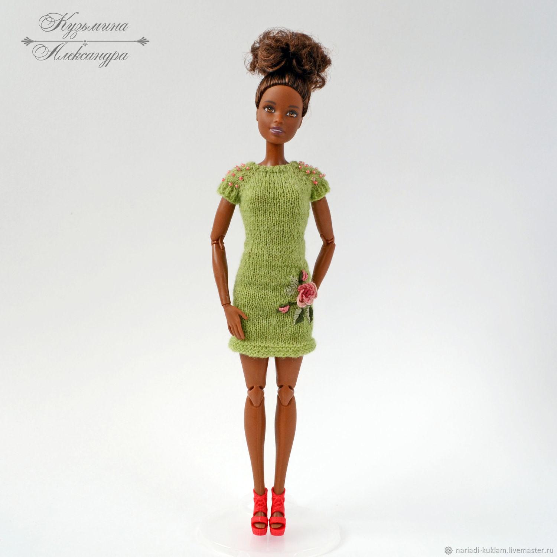 Платье Зеленого Цвета