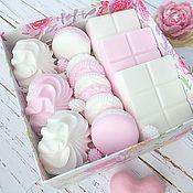 Мыло ручной работы. Ярмарка Мастеров - ручная работа Подарочный набор мыла «Сладость». Handmade.